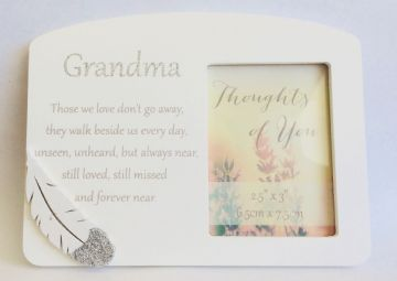 GRANDMA Sentiment Message Tribute Picture PHOTO FRAME 62824GM